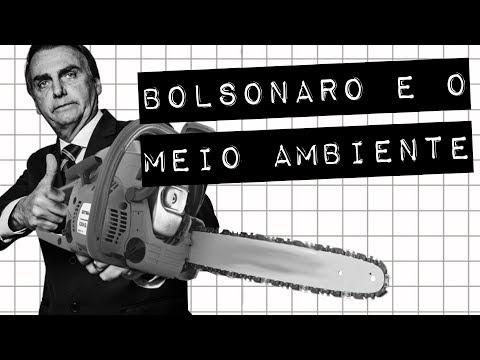 BOLSONARO E O MEIO AMBIENTE #meteoro.doc