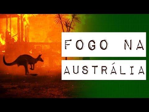 FOGO NA AUSTRÁLIA #meteoro.exp