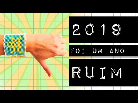 2019 FOI UM ANO RUIM (mas você sobreviveu) #meteoro.doc