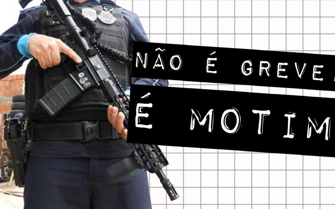 CEARÁ: GREVE DE PM NÃO EXISTE! #meteoro.doc
