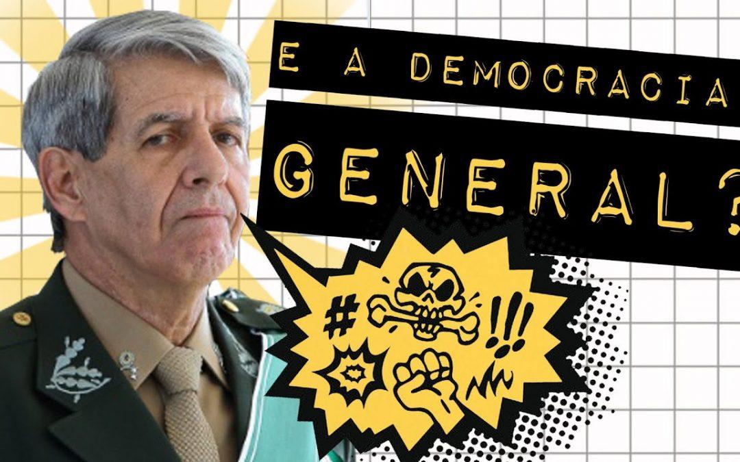 E A DEMOCRACIA, GENERAL? #meteoro.doc