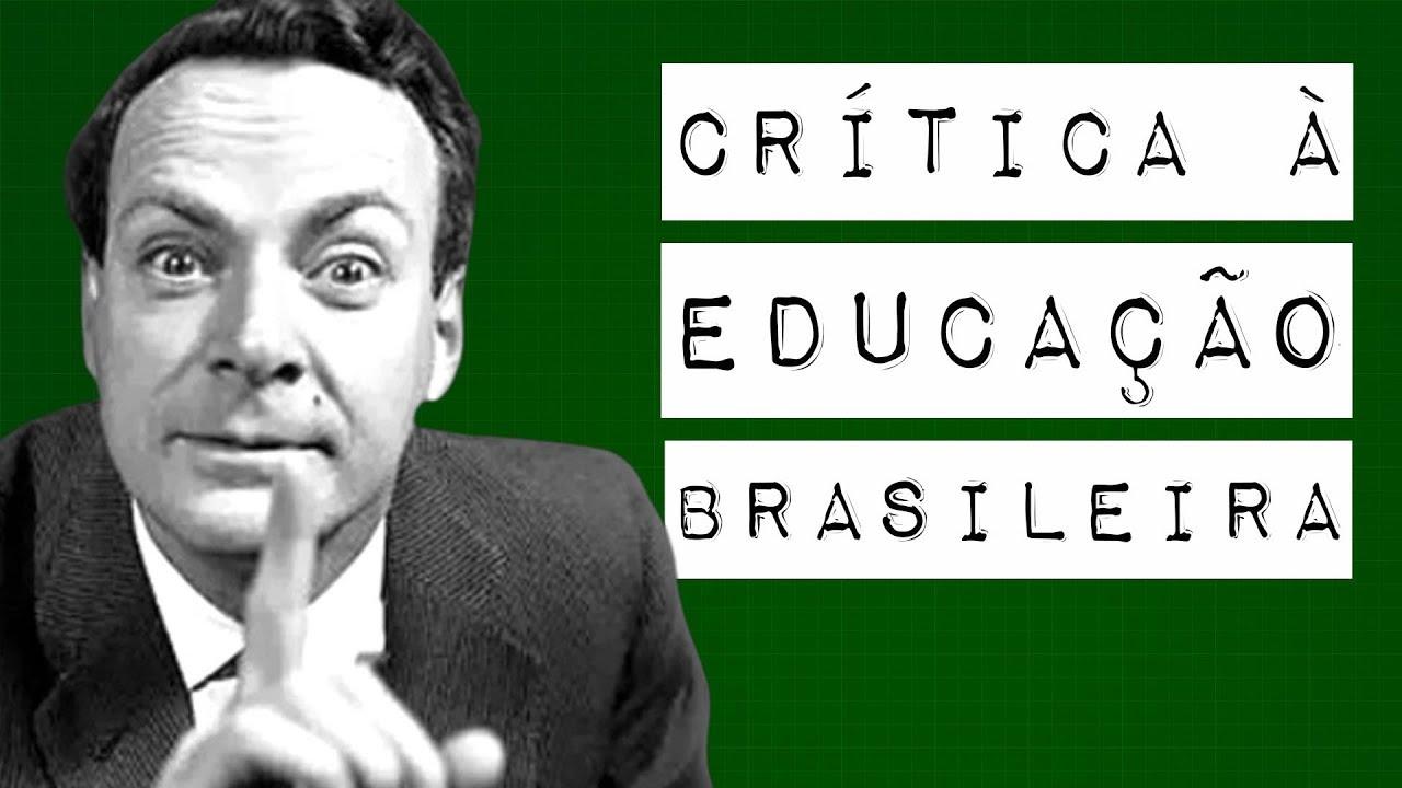 CRÍTICA À EDUCAÇÃO BRASILEIRA #meteoro.exp
