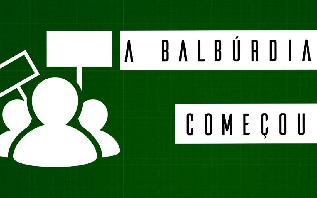 A BALBÚRDIA COMEÇOU #meteoro.exp