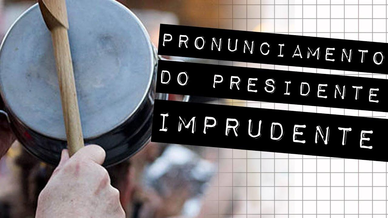 PRONUNCIAMENTO DO PRESIDENTE IMPRUDENTE