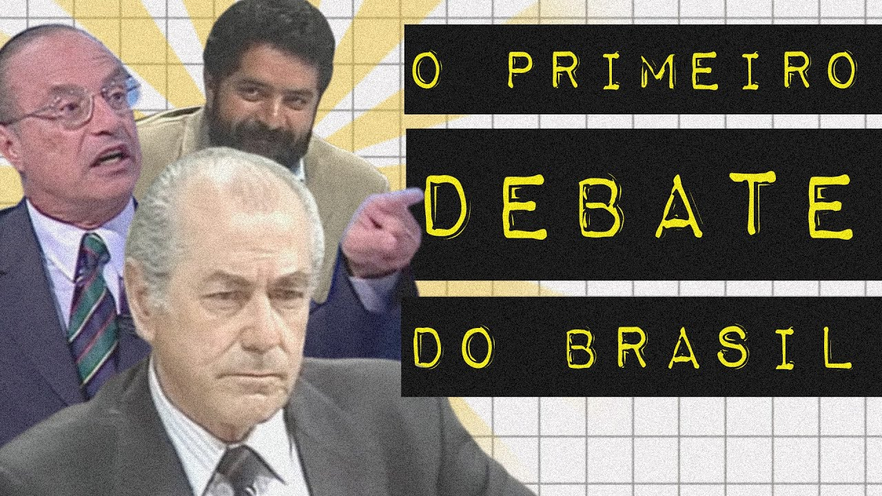 O PRIMEIRO DEBATE DO BRASIL