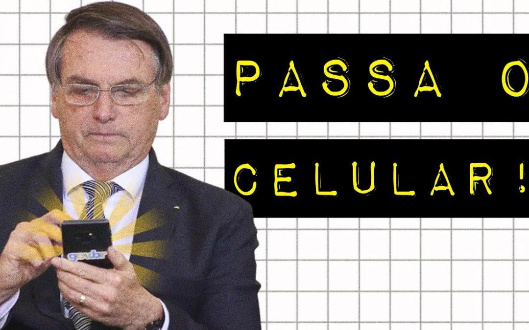 PASSA O CELULAR!