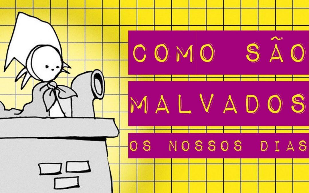 ANDRÉ DAHMER: COMO SÃO MALVADOS OS NOSSOS DIAS
