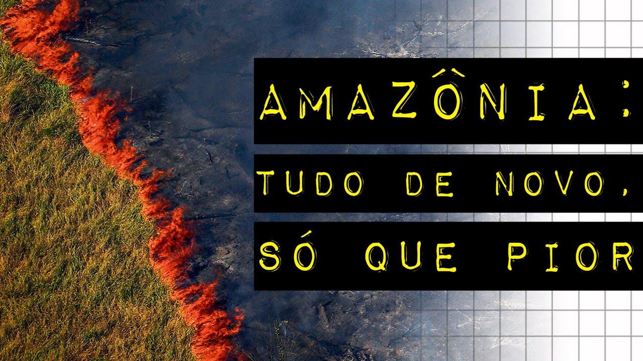 AMAZÔNIA: TUDO DE NOVO, SÓ QUE PIOR