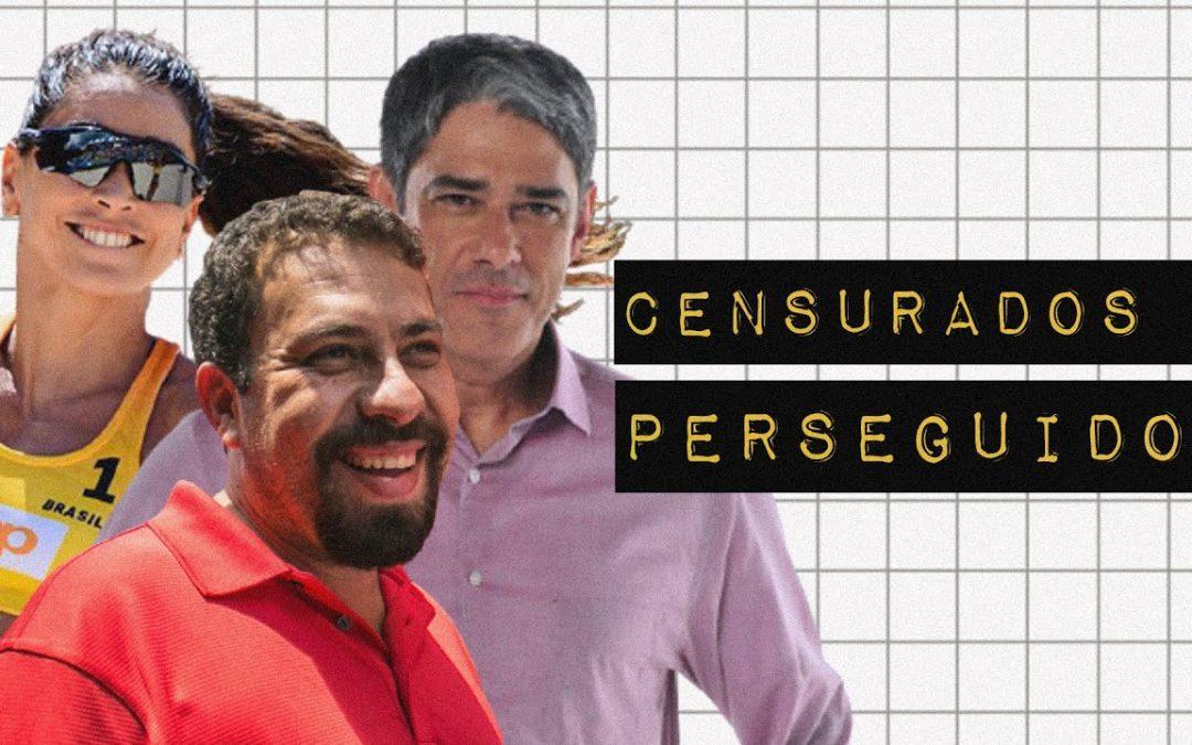 COMO O BOLSONARISMO CENSURA, INTIMIDA E PERSEGUE