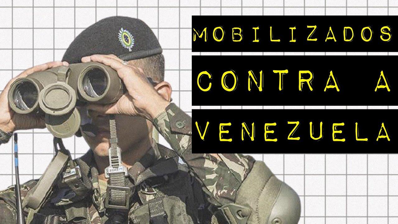 TROPAS TREINAM PARA COMBATER VENEZUELA